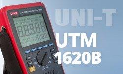 Видеообзор цифрового микроомметра UNI-T UTM1620B (UT620B)