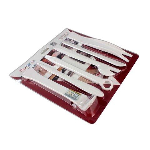 Набір інструментів для знімання обшивки поліуретан, 6 предметів
