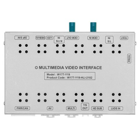 Video Interface for Mercedes Benz with NTG 5.5 NTG 6.0 system