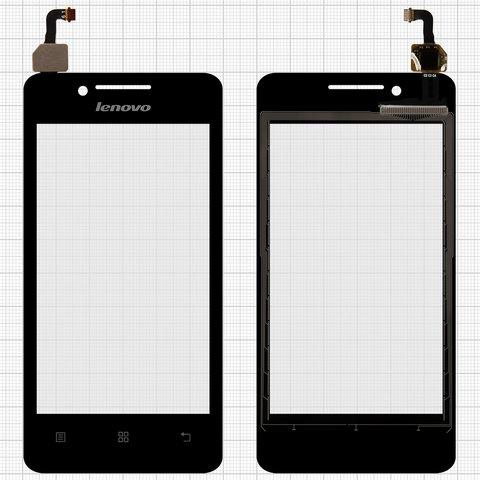 Touchscreen Lenovo A319, (black)