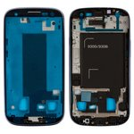LCD Binding Frame compatible with Samsung I9300i Galaxy S3 Duos, (dark blue)