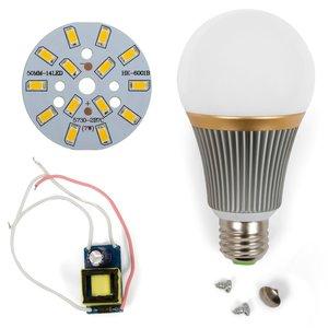 LED Light Bulb DIY Kit SQ-Q23 5730 E27 7 W – warm white