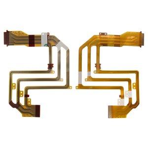 Cable flex para videocámara Sony DCR-SX40E, para pantalla