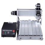 Máquina fresadora CNC de sobremesa de 4 ejes ChinaCNCzone 4030 (800 W)