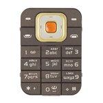 Клавиатура для Nokia 7370, кофейная, русская