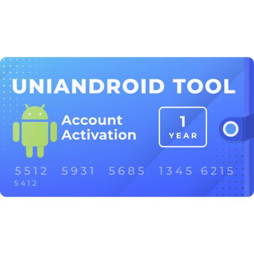 Активация Uni-Android Tool