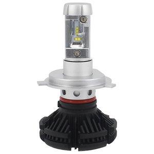 Набор светодиодного головного света UP-X3HL-H4W-6000LM (H4, 6000 лм, холодный белый)