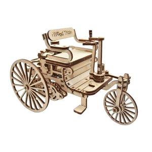 Механический 3D-пазл Wood Trick Первый автомобиль