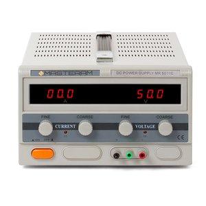 Регулируемый блок питания Masteram MR5010E