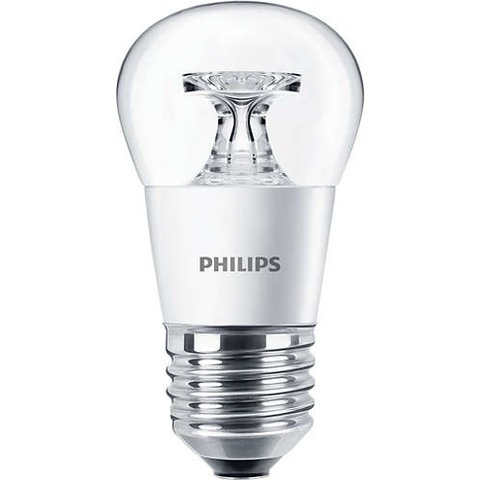 LED лампа Philips CorePro Candle, WW теплий білий , E27, 5.5 Вт, 470 лм