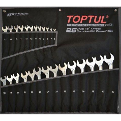 Набір гайкових ключів TOPTUL GPAX2601