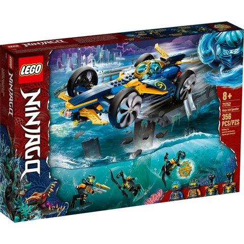 Конструктор LEGO NINJAGO Спидер амфибия ниндзя 71752