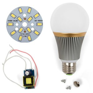 Комплект для сборки LED-лампы SQ-Q23 5730 E27 7 Вт – холодный белый